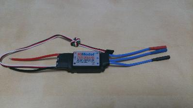 Hi Model Professional- 60A ESC(スピードコントローラ)_3